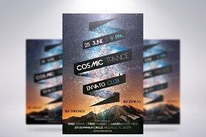 Cosmic Trance Flyer