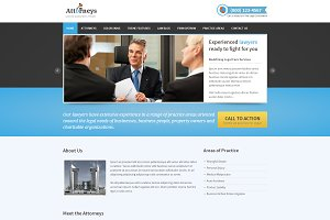 Attorneys - Responsive Law Theme