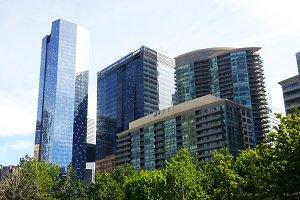 Modern Buildings in Toronto
