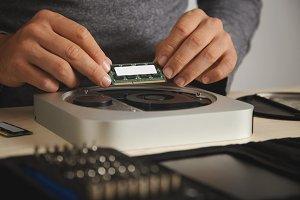 Installing RAM into computer