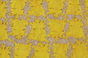 Background of yellow hides