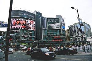 Yonge-Dundas Square in Toronto