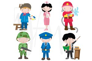 Occupations Clip Art