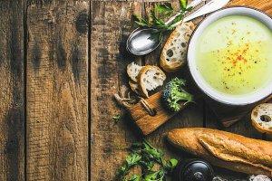 Homemade cream soup
