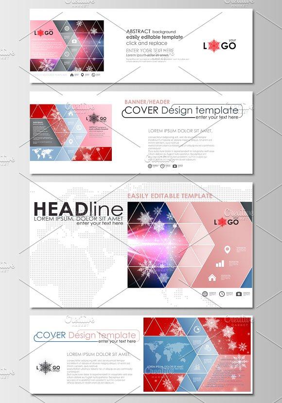 flat design templates v 6 brochure templates creative market