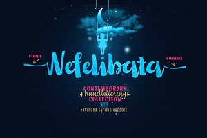 Nefelibata Font Collection