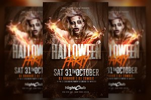 Halloween Party | Zombie Flyer