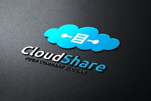 Cloud Share Logo