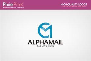 Alpha Mail Logo