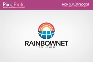 Rainbow Net Logo Template