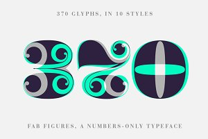 Fab Figures Typeface Set