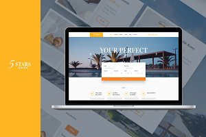 5 Stars - Hotel, Spa & Resort Theme