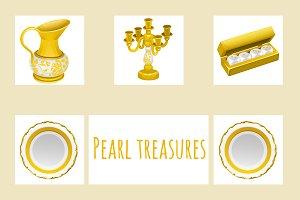 Vintage and precious treasures