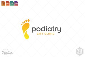 Podiatry Logo Template 1
