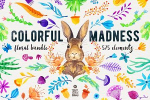 Colorful Madness Floral Bundle
