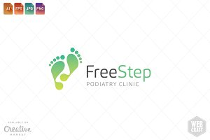 Podiatry Logo Template 3