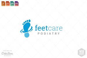 Podiatry Logo Template 4