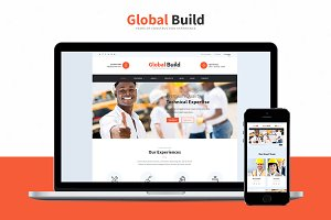 Global Build - Construction WP Theme