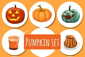 Tasty dishes from pumpkins