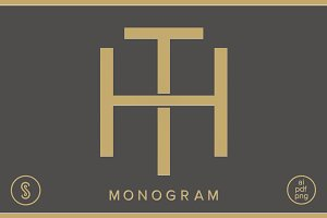 HT Monogram TH Monogram