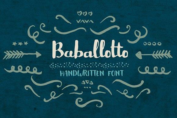 baballotto font