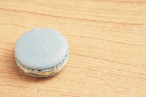Blue Macaron