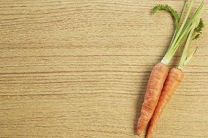 Vegetable, fresh carrots
