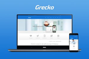 Grecko - Multi Purpose HTML Theme