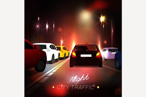 City Traffic Road