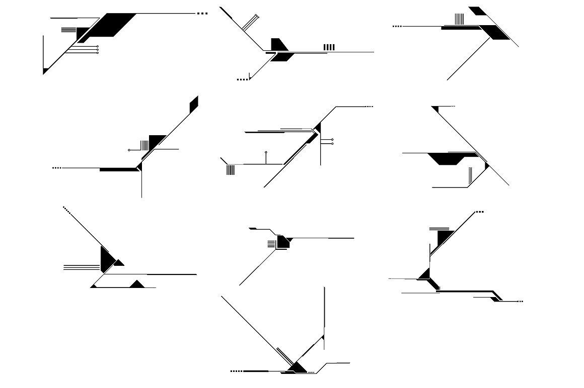 Tech Shapes Vector Pack #2 ~ Illustrations ~ Creative Market