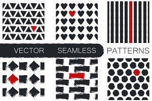 6 Seamless patterns & 13 Strokes