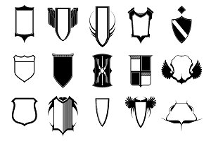 Shields Vector Pack