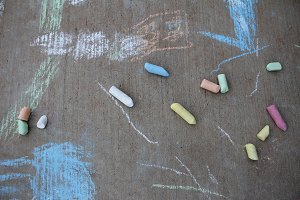 Sidewalk Chalk Hero Image