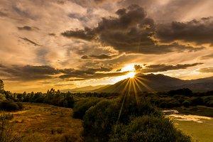 sunset Abantera