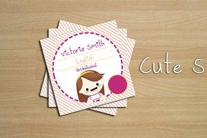 Stiker cute