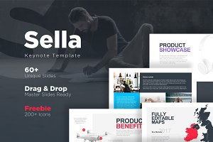 Sella Keynote Template + Free Slides