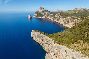Cape Formentor on the north of Mallorca