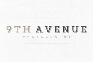 9th Avenue Premade Logo Template