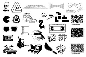 The 80s Vector Pack
