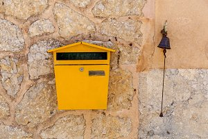 Postbox and a bell