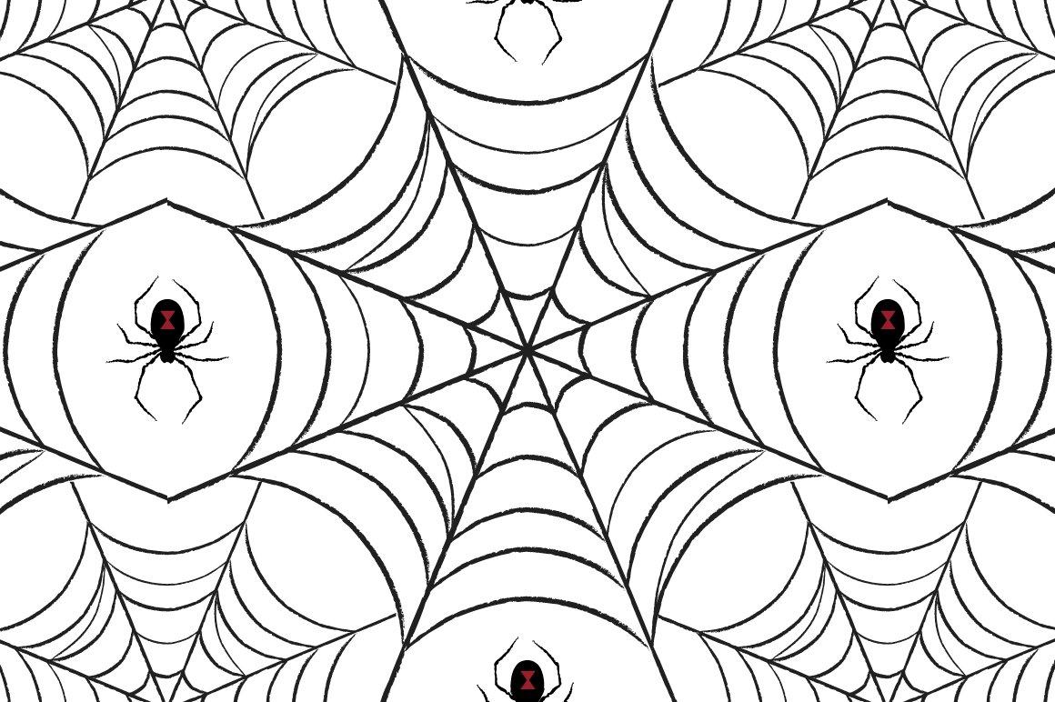 spider web pattern graphic patterns creative market