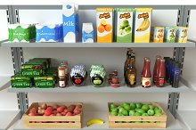 Supermarket Pack Collection by  in Food