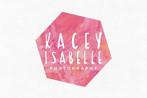 Kacey Isabelle Premade Logo Template