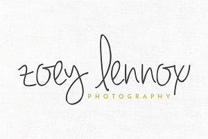 Zoey Lennox Premade Logo Template