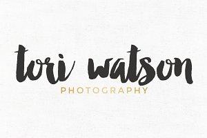Tori Watson Premade Logo Template