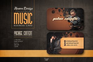Music | Business Card