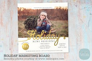 IC022 Christmas Marketing Board
