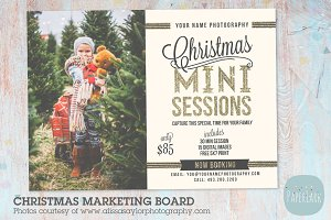 IC023 Christmas Marketing Board