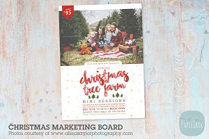 IC031 Christmas Marketing Board