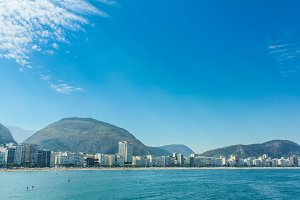 Beautiful Panorama of Copacabana